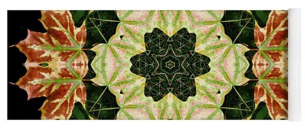 Mandala Autumn Star Yoga Mat