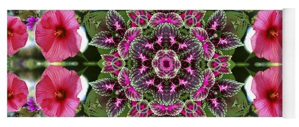 Mandala Pink Patron Yoga Mat