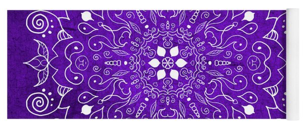 Mandala Purple Yoga Mat