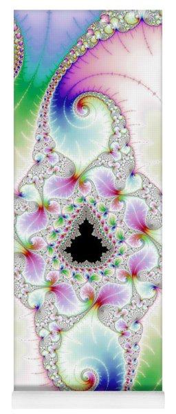 Mandebrot In Pastel Fractal Wonderland Yoga Mat