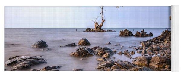 mangrove trees - Java Yoga Mat
