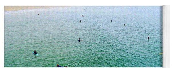 Manhattan Beach - Early Morning Surf Yoga Mat