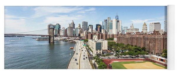 Manhattan On A Sunny Day Yoga Mat