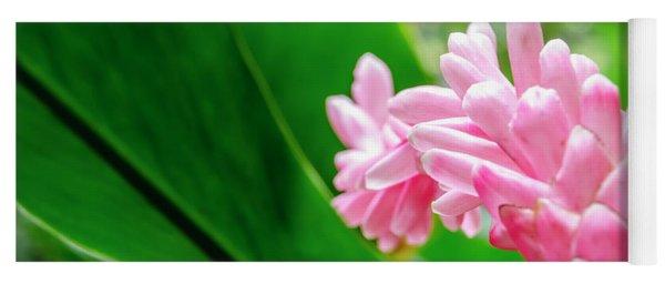 Many Pink Petals Yoga Mat