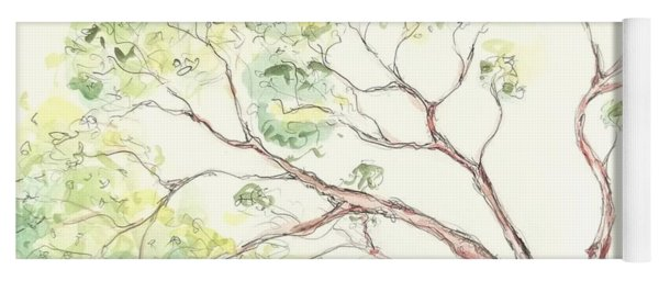Manzanita Tree Yoga Mat
