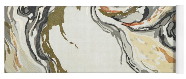 Marbled Pattern Yoga Mat