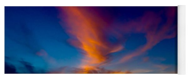 Sunset March 31, 2018 Yoga Mat