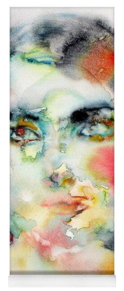 Maria Callas - Watercolor Portrait.3 Yoga Mat