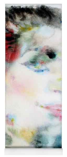 Maria Callas - Watercolor Portrait.4 Yoga Mat