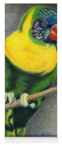 Marigold Lorikeet Yoga Mat