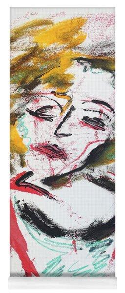 Marilyn Abstract Yoga Mat