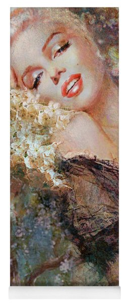 Marilyn Cherry Blossom Yoga Mat