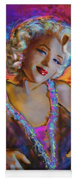 Marilyn Monroe 126 G Yoga Mat