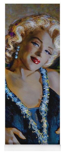Marilyn Monroe 126 Monalisa Yoga Mat