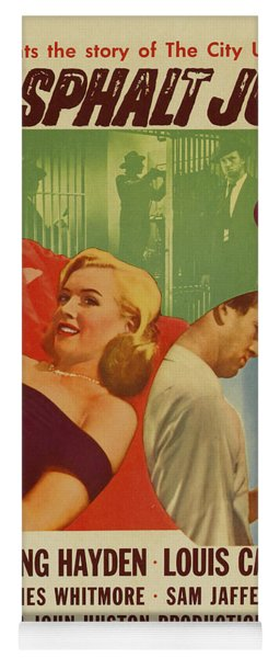 Marilyn Monroe In The Asphalt Jungle Movie Poster Yoga Mat