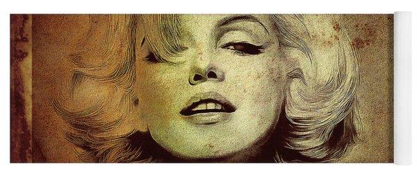 Marilyn Monroe Star Yoga Mat