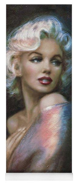 Marilyn Romantic Ww 4 Blue Yoga Mat