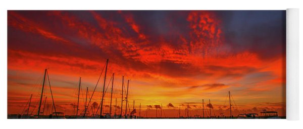 Marina Sunrise - Ft. Pierce Yoga Mat