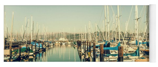 Marinaside Sausalito California Yoga Mat