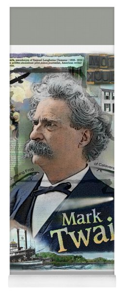 Mark Twain Yoga Mat