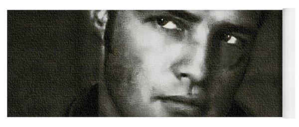 Marlon Brando - Painting Yoga Mat