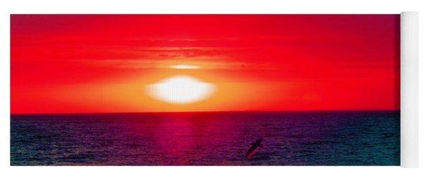 Mars Sunset Yoga Mat