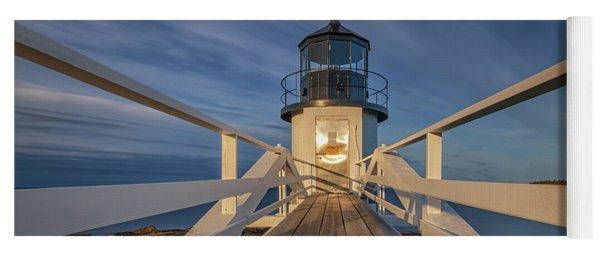 Marshall Point Lighthouse At Sunrise Yoga Mat