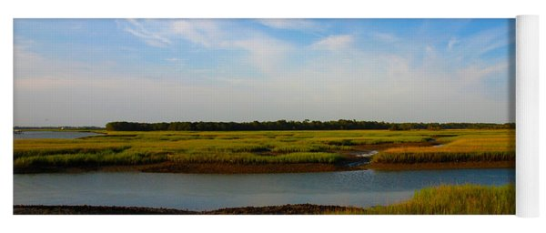 Marshland Charleston South Carolina Yoga Mat