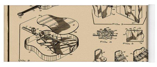 Martin Guitar Patent Dx1 1995 Sepia Yoga Mat