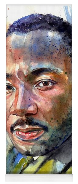 Martin Luther King Jr. Painting Yoga Mat