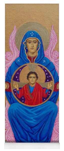Mary Mother Of Mercy Icon - Jubilee Year Of Mercy Yoga Mat