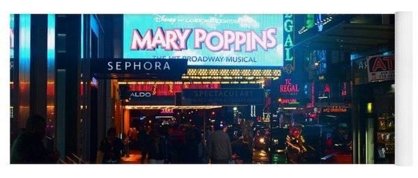 Mary Poppins On Broadway, New York Yoga Mat