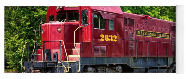 Maryland And Delaware Engine 2632 Yoga Mat