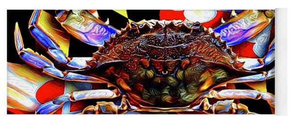 Maryland Blue Crab Yoga Mat
