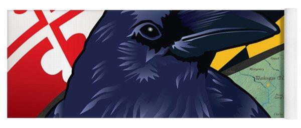 Maryland Citizen Raven Yoga Mat