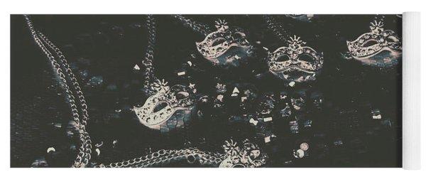 Masks From The Dark Carnival Yoga Mat