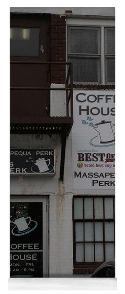 Massapequa Perk Home Of Jack Rice Coffee Yoga Mat