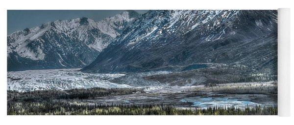 Matanuska Glacier, Alaska Yoga Mat