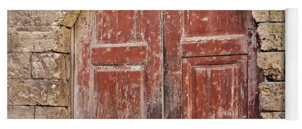 Matera Old Door Yoga Mat