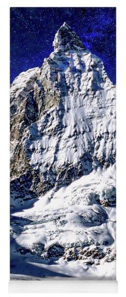 Matterhorn At Twilight Yoga Mat