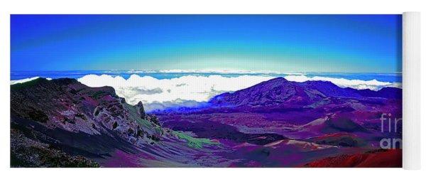 Maui, Haleakala, National Park, Outlook  Yoga Mat