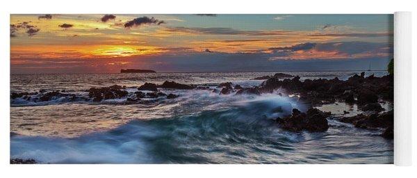 Maui Sunset At Secret Beach Yoga Mat