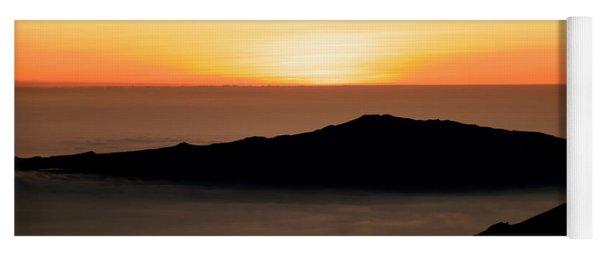Mauna Kea Sunset Yoga Mat