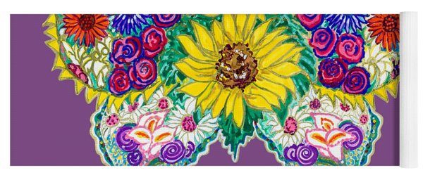 May Butterfly Yoga Mat