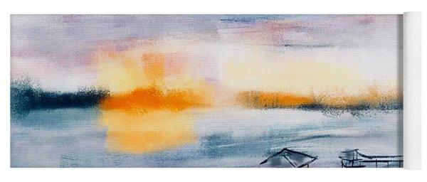 May River Sunset Yoga Mat