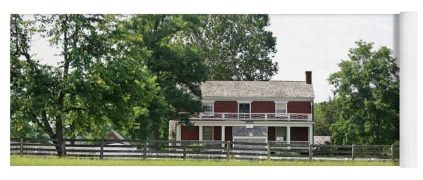 Mclean House Appomattox Court House Virginia Yoga Mat