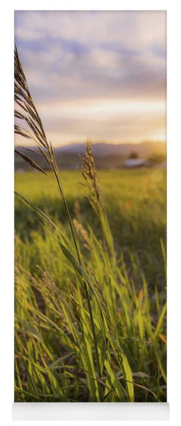 Meadow Light Yoga Mat