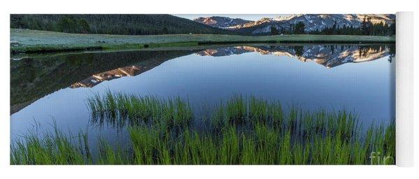 Meadow Reflections  Yoga Mat