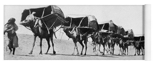 Mecca: Caravan, C1910 Yoga Mat