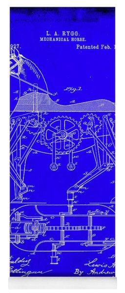 Mechanical Horse Patent Art 1b           Yoga Mat